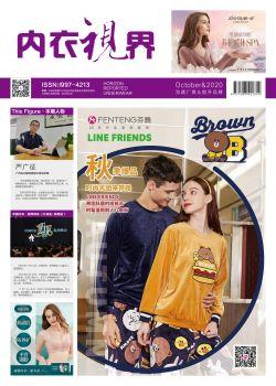 《内衣视界》2020年10月刊,多媒体画册,刊物阅读发布
