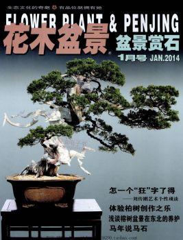 花木盆景14年1月-嘉品美树家园电子画册