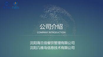 沈阳海兰信及沈阳几维鸟公司简介20180328电子画册