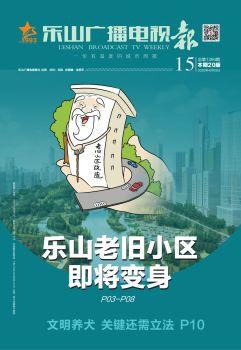2020乐山广播电视报-15 电子书制作软件