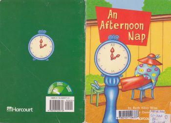 G1L24_第一本小书LR_An Afternoon Nap宣传画册