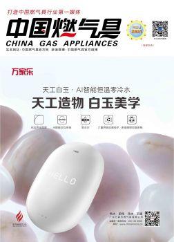 中国燃气具杂志 2021年02月刊 电子书制作软件