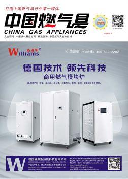 中国燃气具 2020年7月刊,翻页电子画册刊物阅读发布