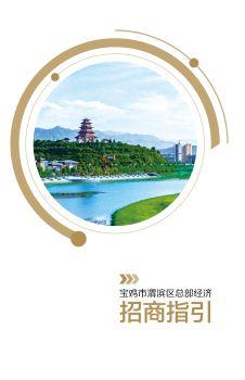 宝鸡市渭滨区总部经济招商指引电子杂志