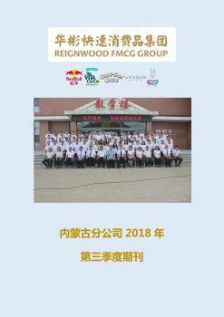 内蒙古分公司2018年第三季度期刊