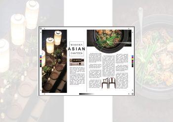 magazine  page design (杂志页设计)