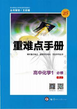 重难点手册高中化学必修1RJ人教版