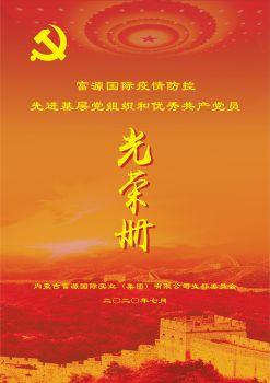 富源国际先进基层党组织、优秀共产党员 电子书制作软件