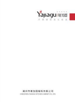 雅加固不锈钢标准化厨柜电子画册