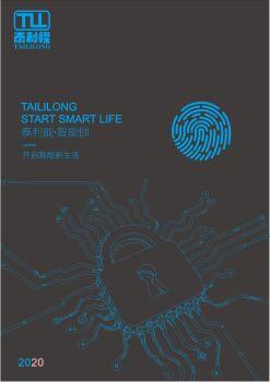2020泰利隆智能锁画册-PDF