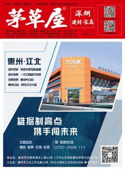 《茅草屋深圳建材报》2020年1月1日刊电子画册