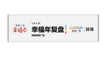 蚌埠吾悦广场1月份活动复盘总结报告电子画册