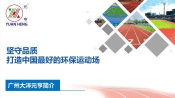 广州大洋元亨化工有限公司电子画册