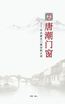 唐潮门窗(2021版产品图册)