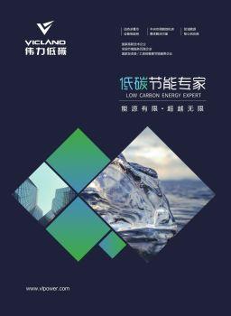 深圳市伟力低碳股份有限公司  公司画册