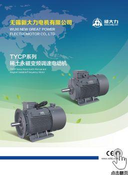 新大力电机 产品手册(20200315)