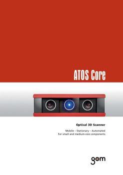 三维扫描仪ATOS Core – (英文)电子刊物