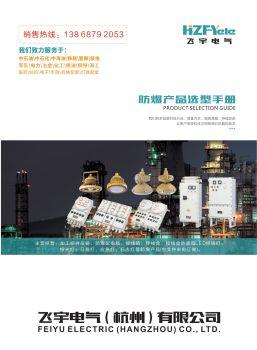飞宇电气(杭州)有限公司-防爆电子画册