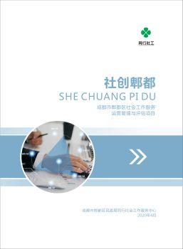成都市郫都区社会工作服务运营管理与评估项目电子画册