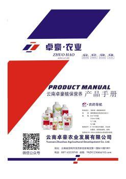 云南卓豪产品手册 电子书制作软件