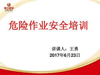 危险作业安全培训-王勇 电子杂志制作平台