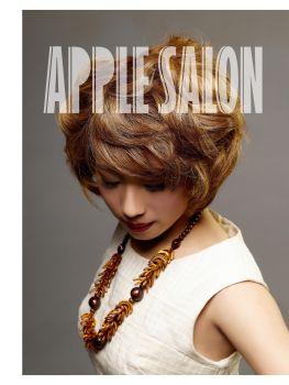 苹果发艺杂志