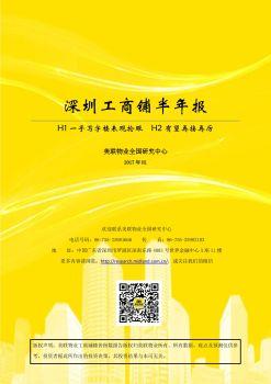 深圳工商铺半年报-2017年7月电子画册