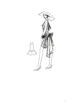 时装设计宝典(人体画册)