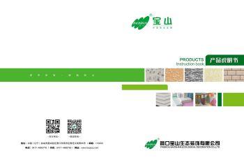 宝山装饰墙面说明书宣传画册