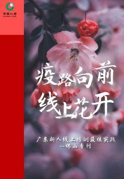 疫路向前,线上花开--广东省新人线上培训最佳实践电子刊物