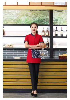 中式餐厅服务宣传画册