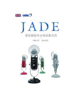 JADA录音棚级专业电容麦克风电子画册