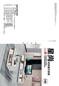 2019星尚时尚客厅家具电子画册