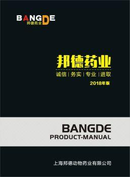 上海邦德药业有限公司电子画册