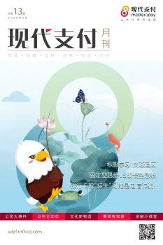 气温渐升,点燃一夏_现代支付月刊第13期 电子书制作软件