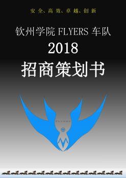 2018赛季钦州学院FLYERS车队车队赞助策划书(巴哈)电子刊物