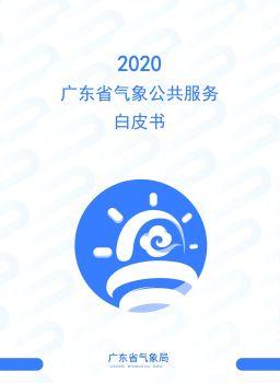 2020广东省气象公共服务白皮书 电子书制作软件