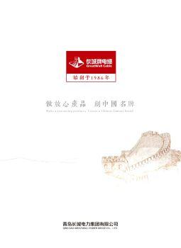 长城电力集团-长城牌电缆电子画册
