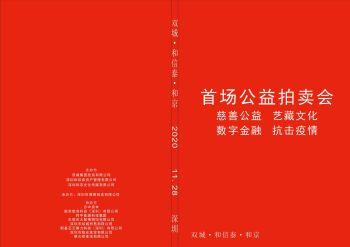 双城·和信泰·和京首场公益慈善拍卖会电子宣传册