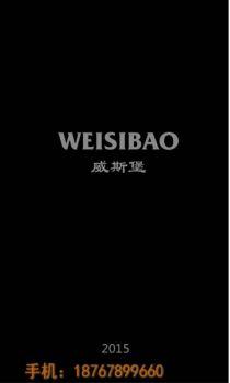 威斯堡2015版选型图册