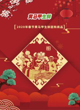 2020年春节黄马甲生鲜团购商品