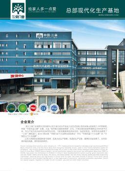 三荣门业最新投标书电子册电子画册