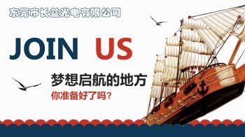 东莞市长益光电有限公司招聘电子画册