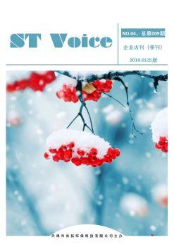 尚拓环保内刊《 ST Voice 》第9期