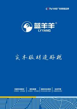 蓝羊羊板材招商宣传画册(升级版)