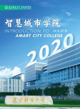 2020年智慧城市学院招生简章 电子书制作软件