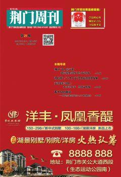 荆门周刊2019年第21期 电子杂志制作软件