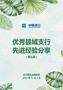 三门峡陕州支行先进经验分享电子画册