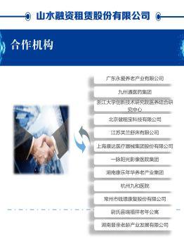山水融资租赁合作机构简介 电子杂志制作平台