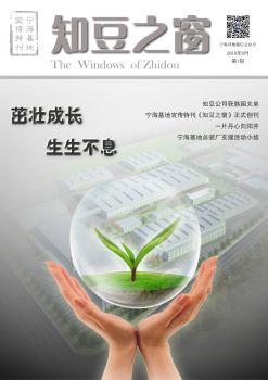 《知豆之窗》第1期,互动期刊,在线画册阅读发布